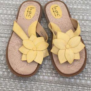 Boc Born Concept Size 8 Sandals Yellow